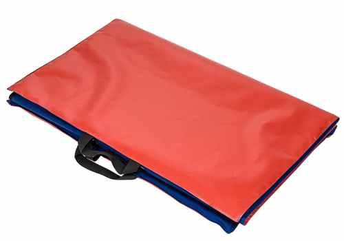 Heavyweight waterproof target shooting mat folded - low resolution