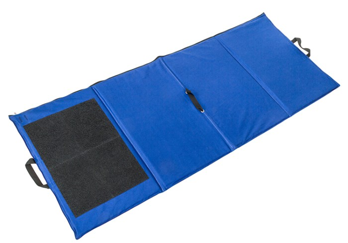Heavyweight waterproof target shooting mat unfolded - low resolution