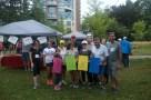 Family at Terry Fox Run