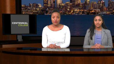Renee Allen and Melisha Ratnarajah