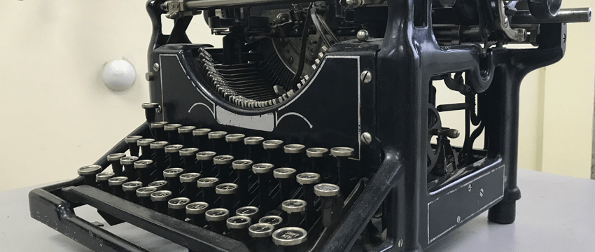 Vintage Typewriter Repair