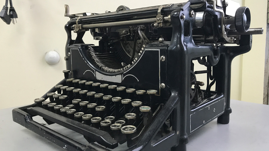 Vintage Typewriter Repair