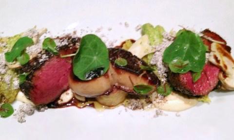 Clio Restaurant Venison Dish