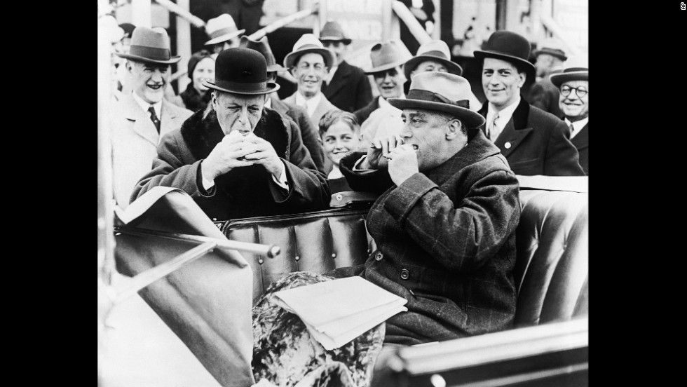 Roosevelt eating hot dog.jpg