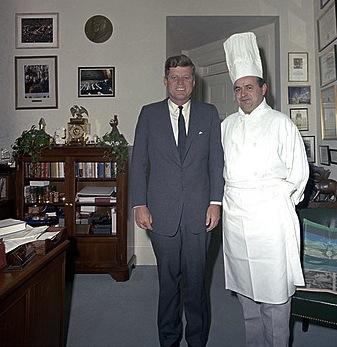 jfk & chef rene verdon
