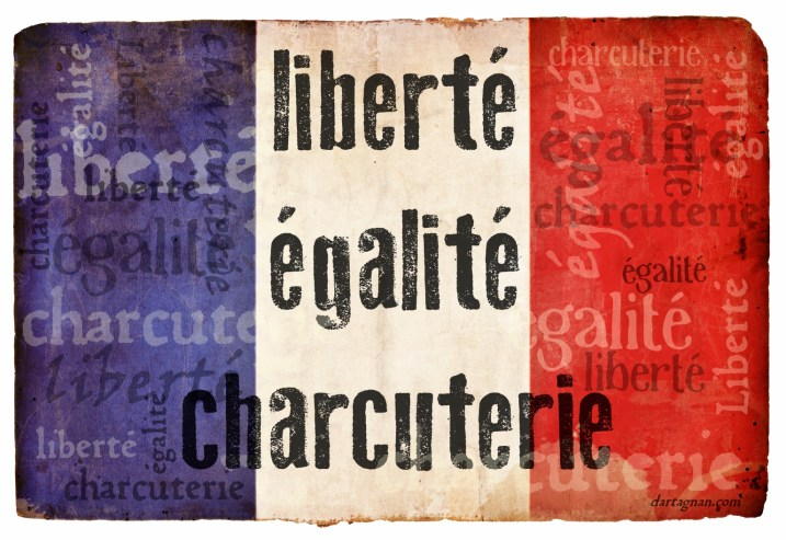 Bastille Day Flag Liberte Charcuterie