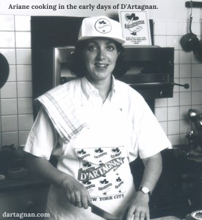 Ariane in the Kitchen 1980s EDIT