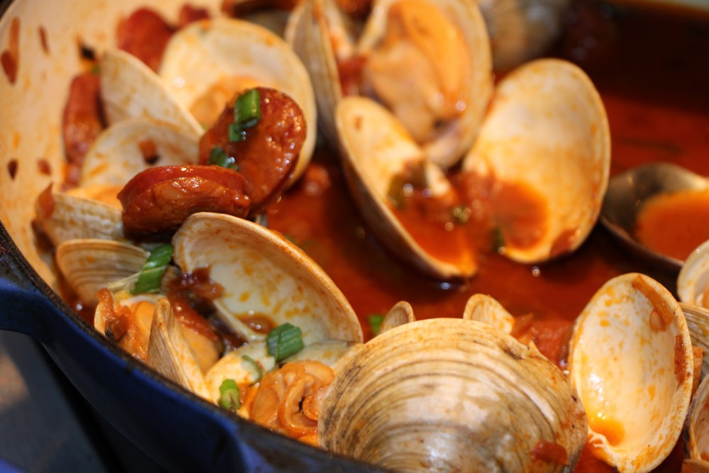 Chorizo & Clams 5
