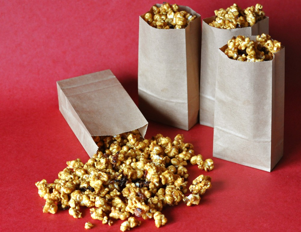 bacon caramel corn recipe preview
