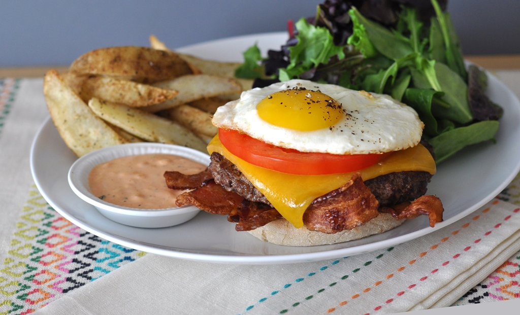 Whip Up this Brunch Burger on Father's Day
