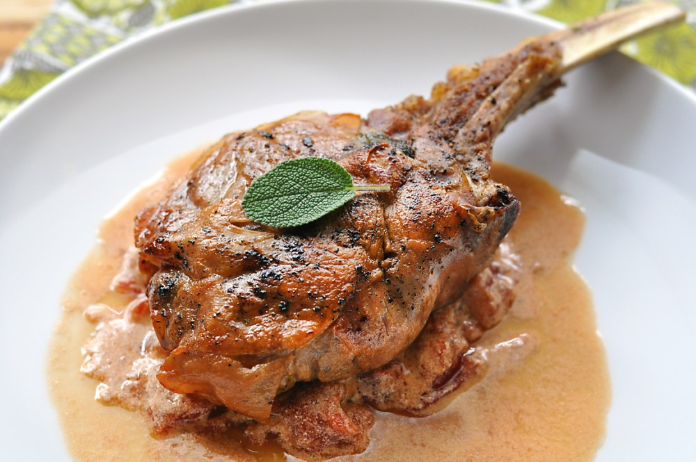 easy-baked-veal-chop-saltimbocca-recipe