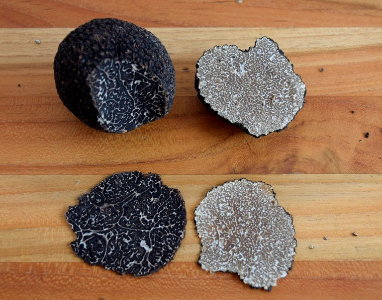 Black Winter and Summer Truffles Comparison 2