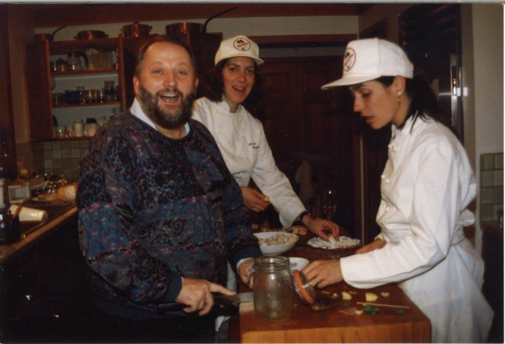 Ariane with Michel Richard and Nicole Peyrafitte