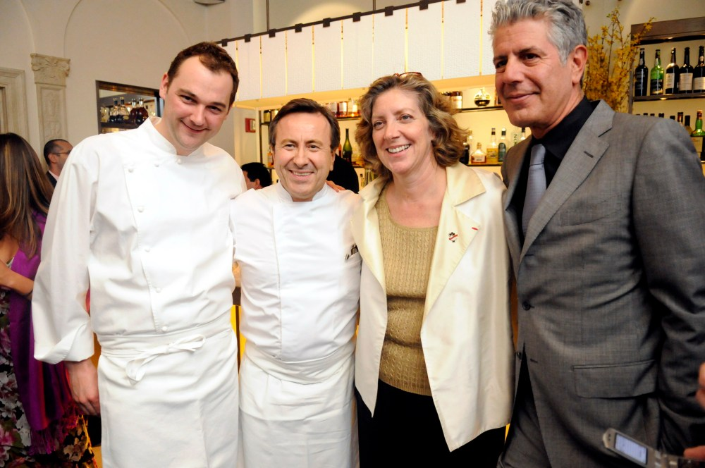 Daniel Humm, Daniel Boulud, Ariane Daguin, Anthony Bourdain-photo by Michael Harlan Turkell