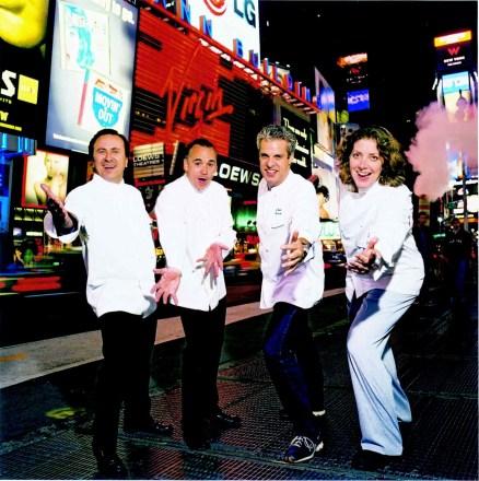 Daniel, Jean-Georges, Eric & Ariane