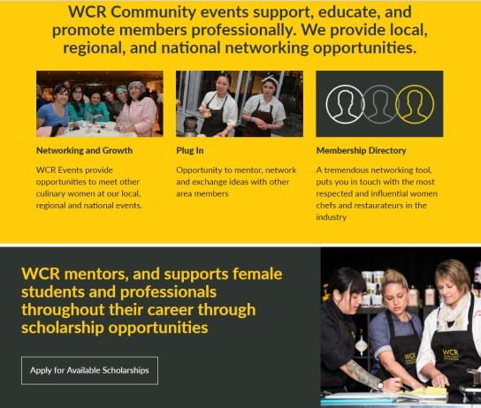 WCR Website Screen Shot
