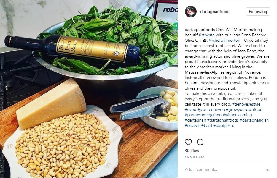 Instagram Jean Reno Olive Oil Pesto.jpg