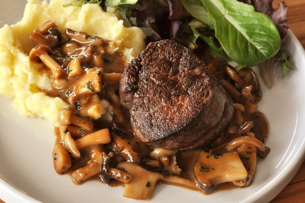 Wagyu Filet Mignon Steak Diane