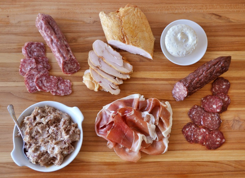 Charcuterie for 4 kit
