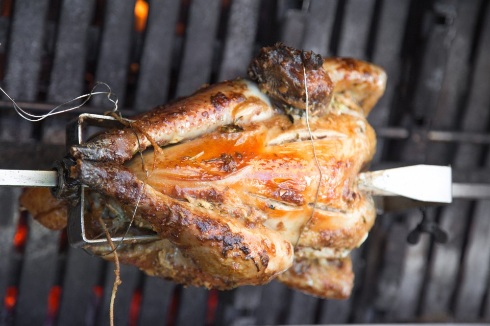 Guinea Hen on Grill Rotisserie AdobeStock_125255691.jpeg