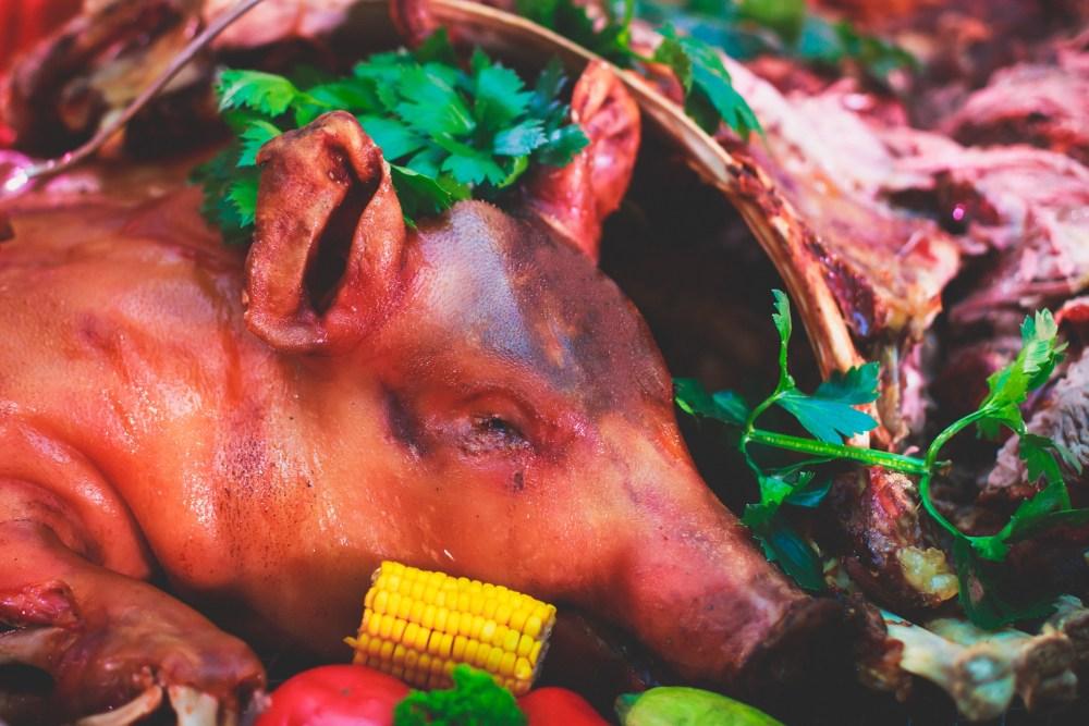 Whole Roasted Pig Adobe Stock