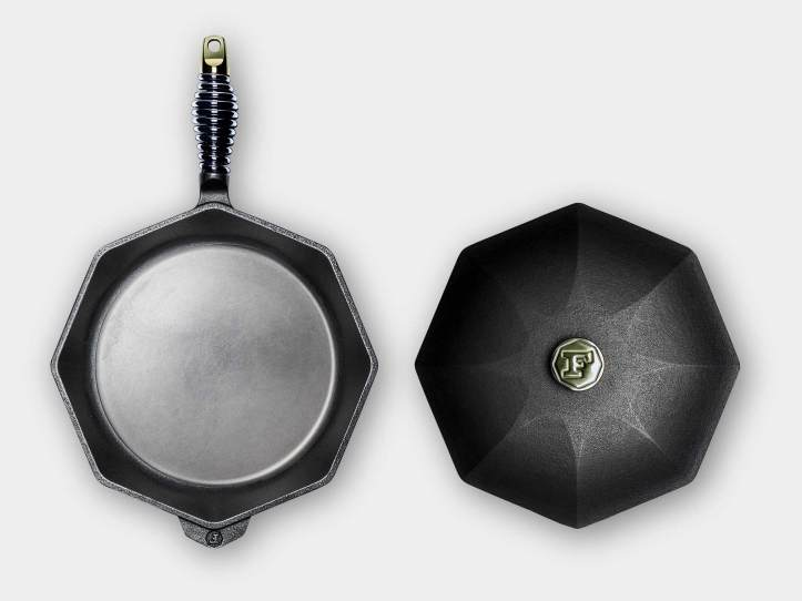 You can't mistake the distinctive shape of Finex cast iron.