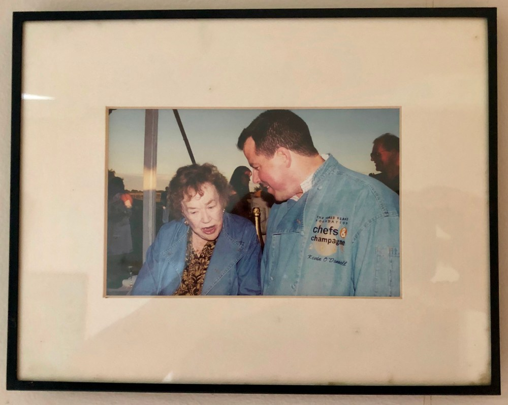 Kevin ODonnell with Julia Child.jpg