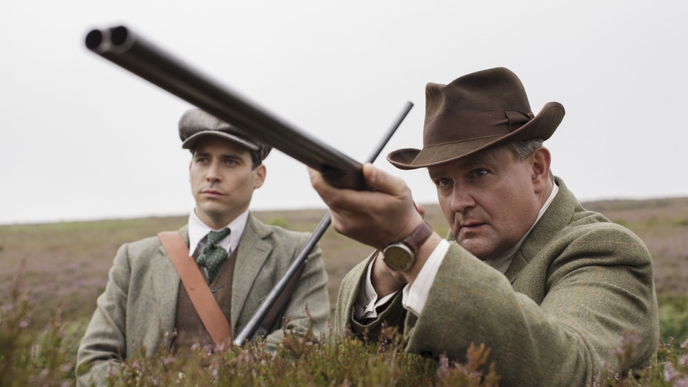 Lord Granthan Hunting Grouse