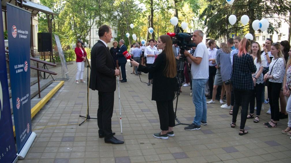 9 сентября 2019 года. «Крокі на Гукі» в Минском государственном колледже
