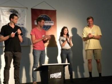 Center Berlin winners of the Rhetoric Game