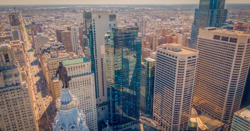 Philadelphia High Rise Buildings Center City