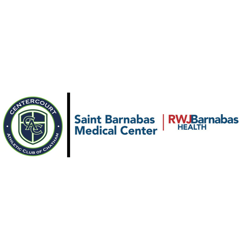 Saint Barnabas Medical Center and Centercourt Club & Sports Partner Together