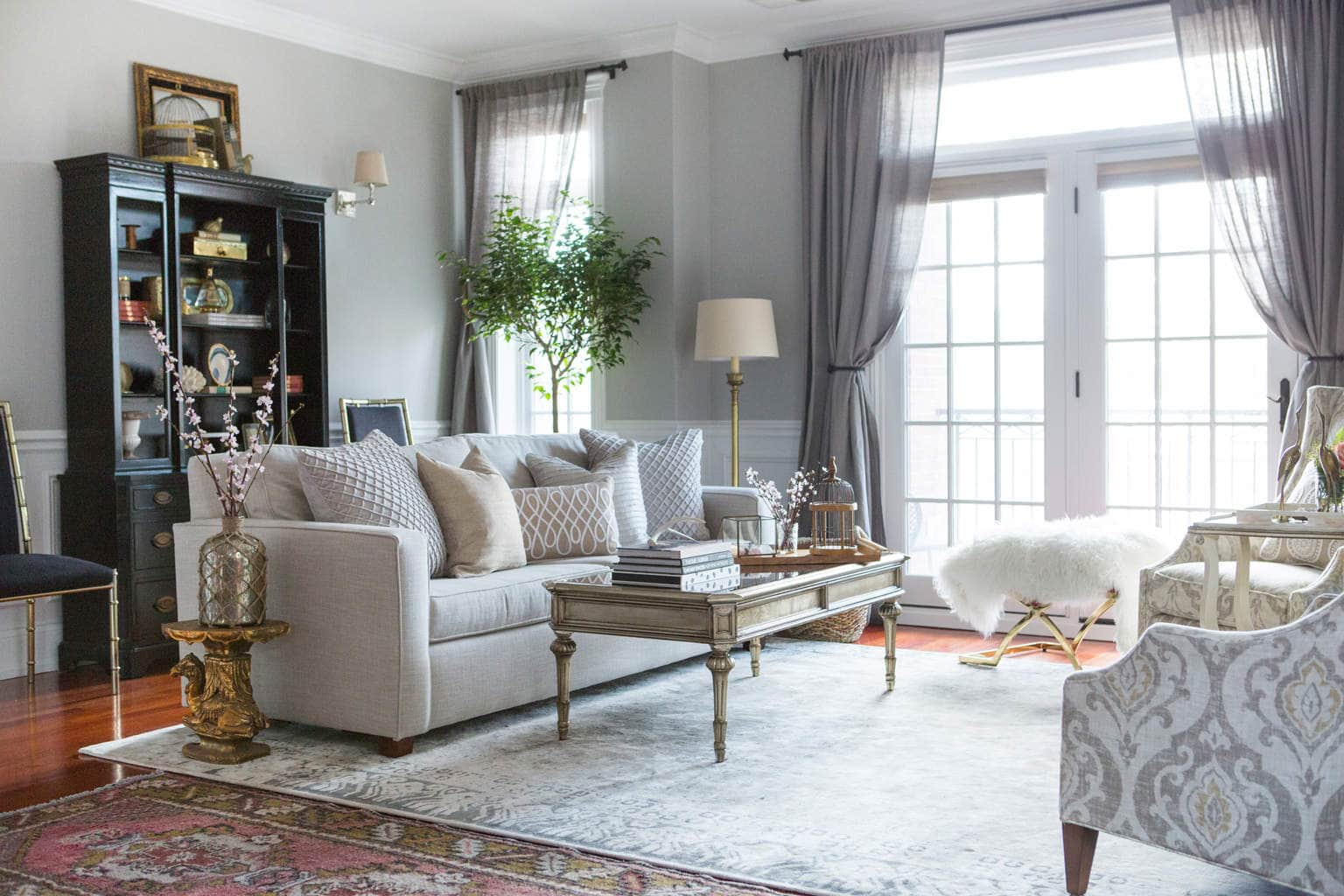 Centered by Design: Neutral and Gray Living Room Decor on Living Room Decor  id=27446