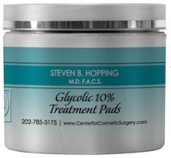 Image of Dr. Steven Hopping's Glycolic 10% Treatment Pads
