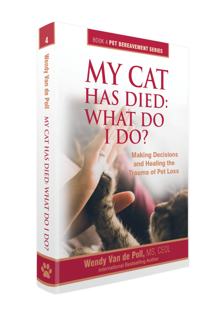 my cat has dies book cover