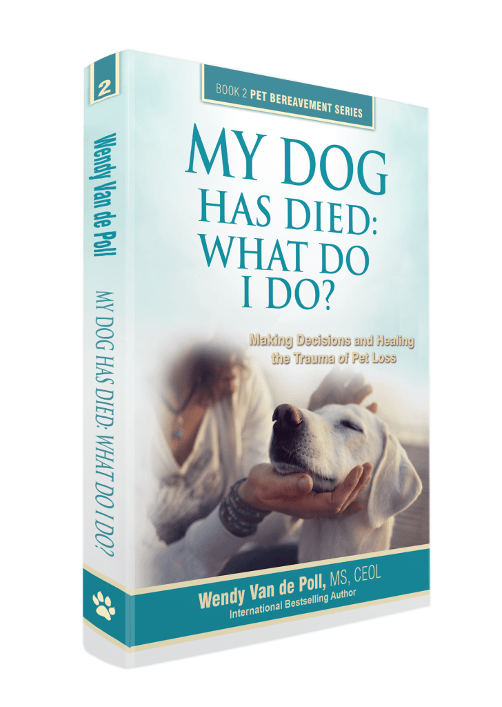 dog has died book cover