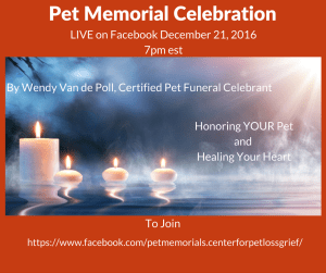 Pet Eulogy