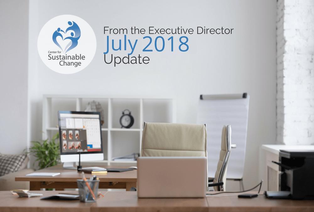 July 2018 News & Updates
