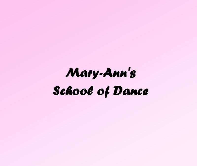MARY- ANN'S DANCE RECITAL