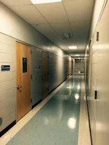 Dressing Room Hallway