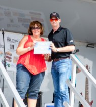 3rd Place winner in Modified was Joy Brosius (sp?) with a 1972 Plymouth Roadrunner. CONGRATULATIONS!!!!