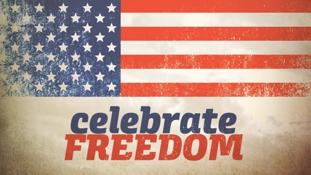 Independence Day Freedom Title Centerline New Media