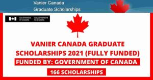 Canadian Government Scholarships 2022