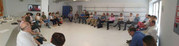 Participantes en la sesión de trabajo