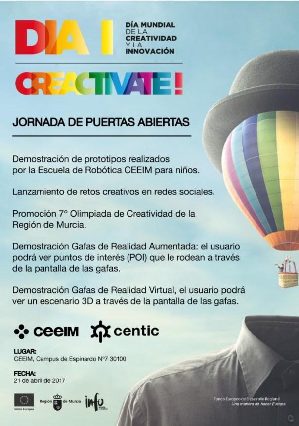 programa jornada puertas abiertas CEEIM CENTIC