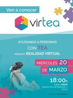 Cartel Jornada Presentacion Virtea answare