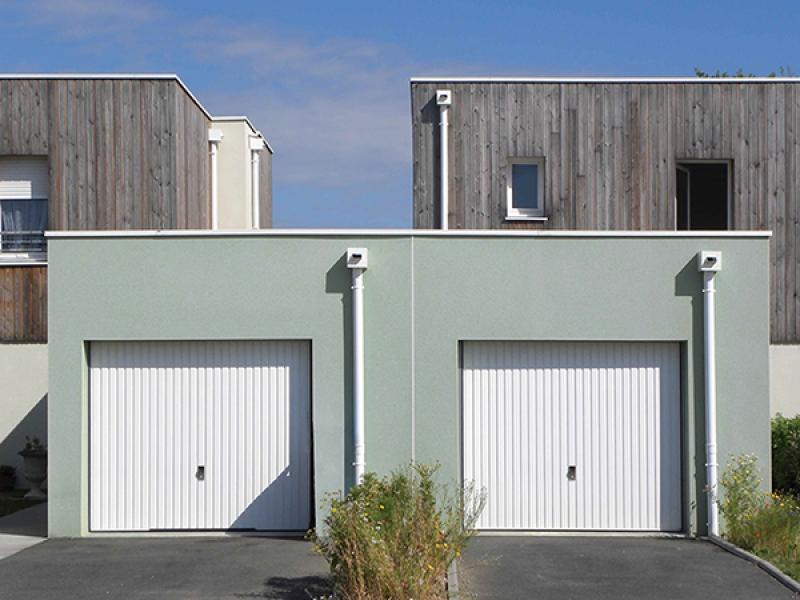 Porte De Garage Basculante Sur Mesure D Bordante Sans Rail
