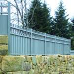 Les clôtures aluminium tradition