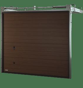 Porte de garage sectionnelle multiligne