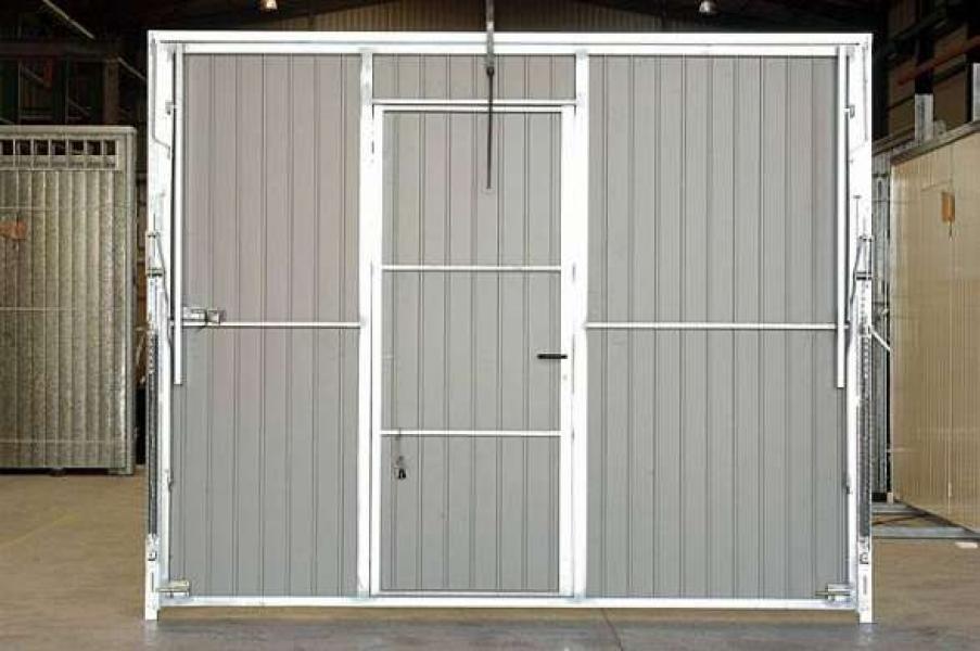 Porte de garage basculante sur mesure d bordante sans rail - Porte garage basculante sur mesure ...